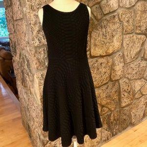 Catherine Malandrino Black Knit Dress-Size 6